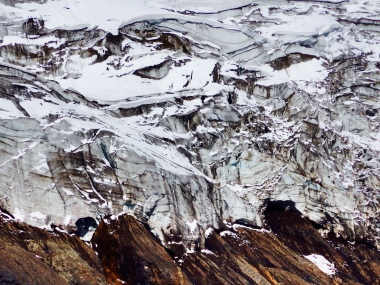 The Glacier Crackles